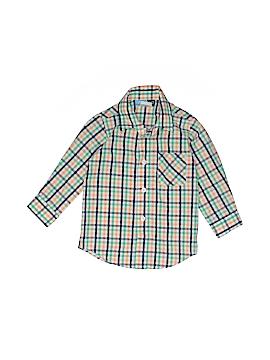 Goodlad Long Sleeve Button-Down Shirt Size 2T