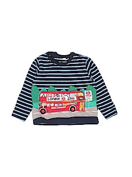 JoJo Maman Bebe Long Sleeve Button-Down Shirt Size 6-12 mo
