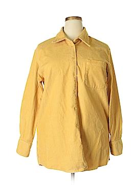 Elisabeth by Liz Claiborne Long Sleeve Button-Down Shirt Size 16