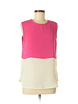 C.Luce Short Sleeve Blouse Size M