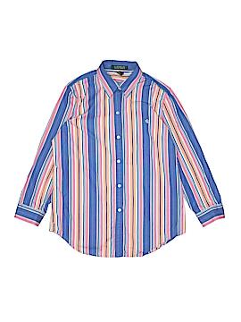 Lauren by Ralph Lauren Long Sleeve Button-Down Shirt Size S (Kids)