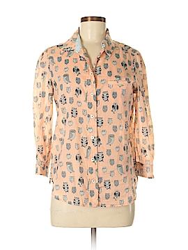 HD in Paris Long Sleeve Button-Down Shirt Size 6