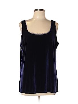 Covington Sleeveless Blouse Size XL