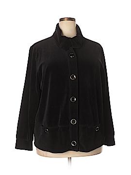 Karen Scott Sport Jacket Size 2X (Plus)