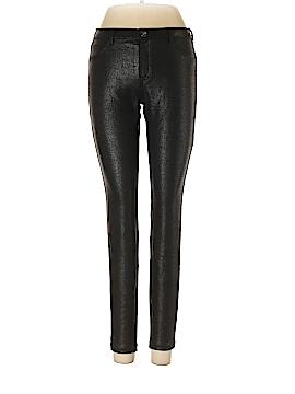 Hue Faux Leather Pants Size S