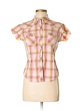 Panhandle Slim Short Sleeve Button-Down Shirt Size M