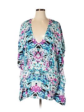Bar III 3/4 Sleeve Blouse Size L