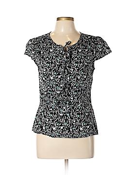 Ann Taylor LOFT Short Sleeve Blouse Size 12