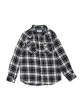 Zara Long Sleeve Button-Down Shirt Size 8