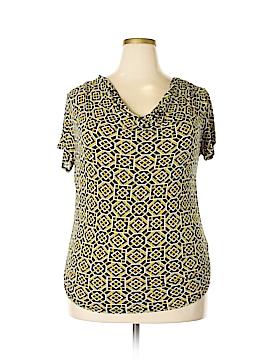 Covington Short Sleeve Top Size 1X (Plus)