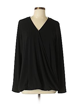 Lark & Ro Long Sleeve Top Size L