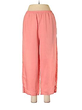 Allison Taylor Linen Pants Size XL