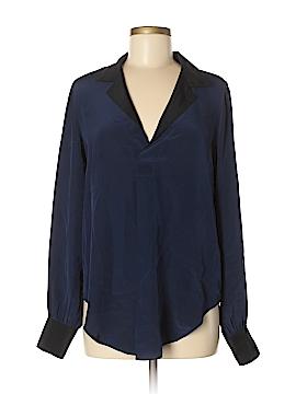 Fifteen Twenty Long Sleeve Silk Top Size M