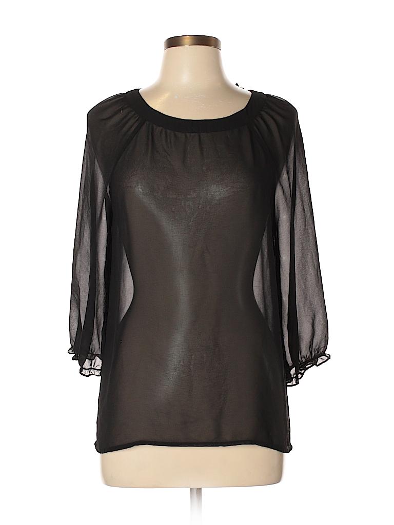 Petticoat Alley Women Long Sleeve Blouse Size M