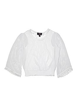 Iz Byer Long Sleeve Blouse Size 10 - 12