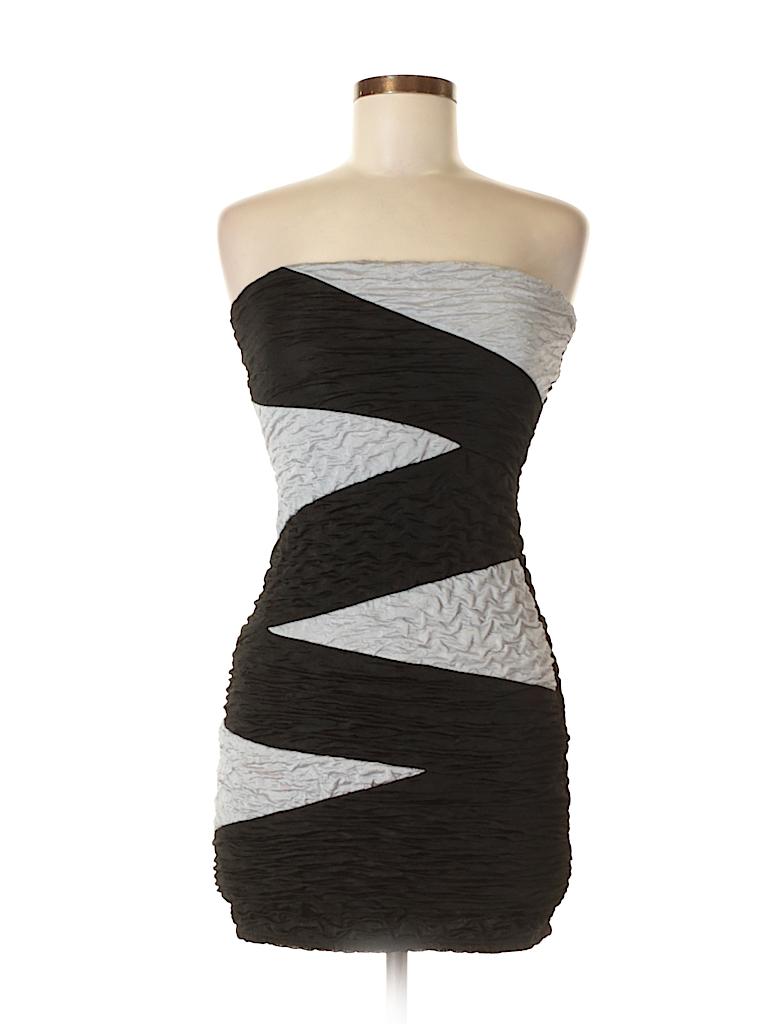 Lovely Day Color Block Black Cocktail Dress Size S - 57% off   thredUP