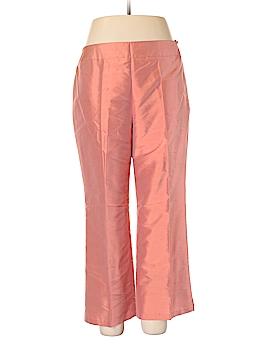 Talbots Silk Pants Size 16