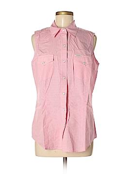 Rockies Sleeveless Button-Down Shirt Size L