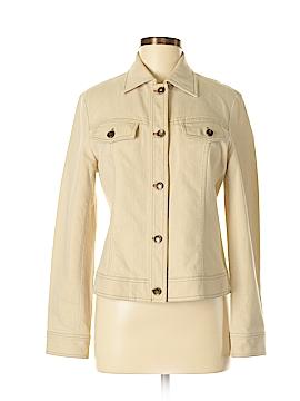 Lafayette 148 New York Denim Jacket Size 6