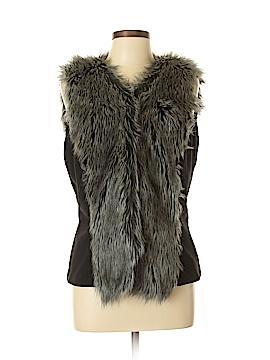 Bisou Bisou Faux Fur Vest Size L