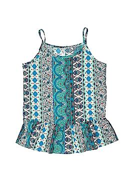Knit Works Sleeveless Blouse Size 10 - 12