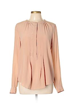 Rebecca Taylor Long Sleeve Silk Top Size 10