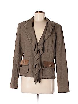 CAbi Silk Blazer Size 8