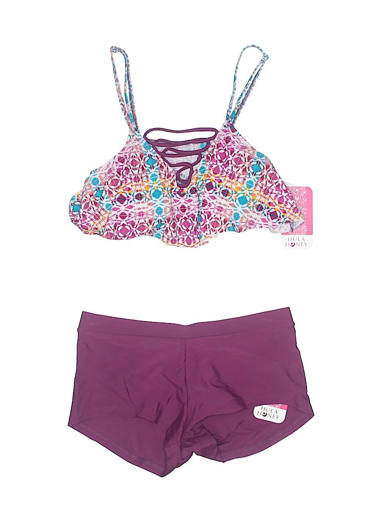 Hula Honey Women Two Piece Swimsuit Size M