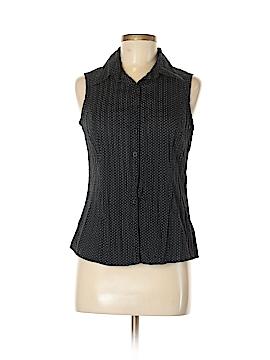 Renuar Sleeveless Button-Down Shirt Size 6