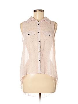 Eyelash Couture Sleeveless Blouse Size M