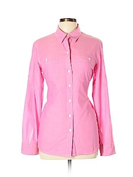 L-RL Lauren Active Ralph Lauren Long Sleeve Button-Down Shirt Size L