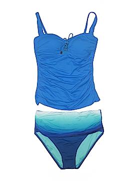 Bleu Rod Beattie Two Piece Swimsuit Size 8