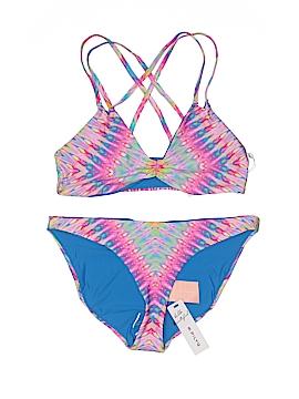 PilyQ Two Piece Swimsuit Size L