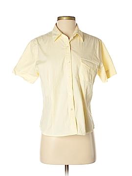 Crossroads Short Sleeve Button-Down Shirt Size M
