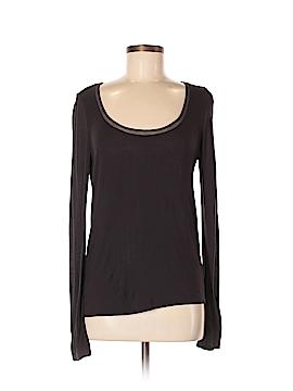 Elie Tahari Long Sleeve T-Shirt Size M