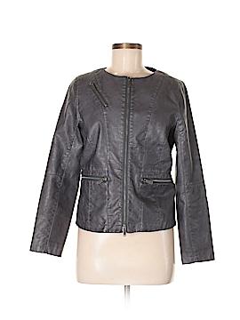 CALVIN KLEIN JEANS Faux Leather Jacket Size M