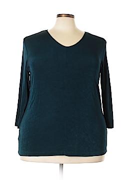 Antik Denim 3/4 Sleeve Blouse Size 1X (Plus)