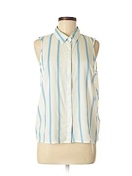 Atmosphere Sleeveless Button-Down Shirt Size 8