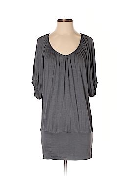 24/7 Comfort Apparel 3/4 Sleeve Top Size S