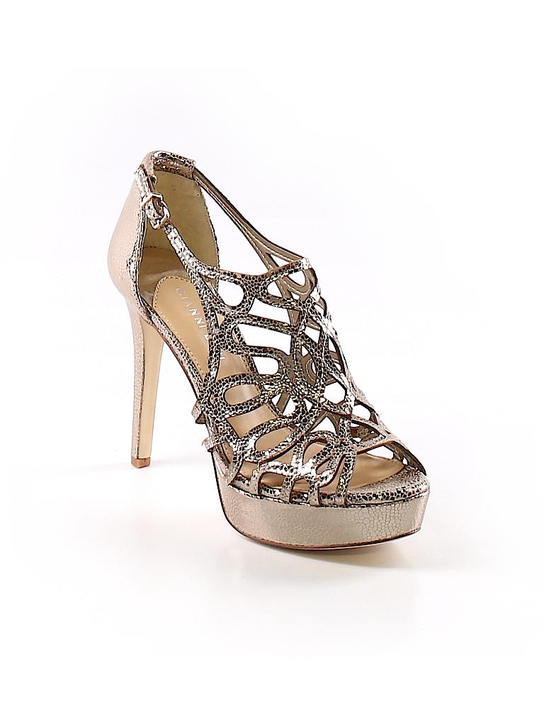 7b0b3575bb3 Gianni Bini Metallic Gold Heels Size 7 1 2 - 70% off