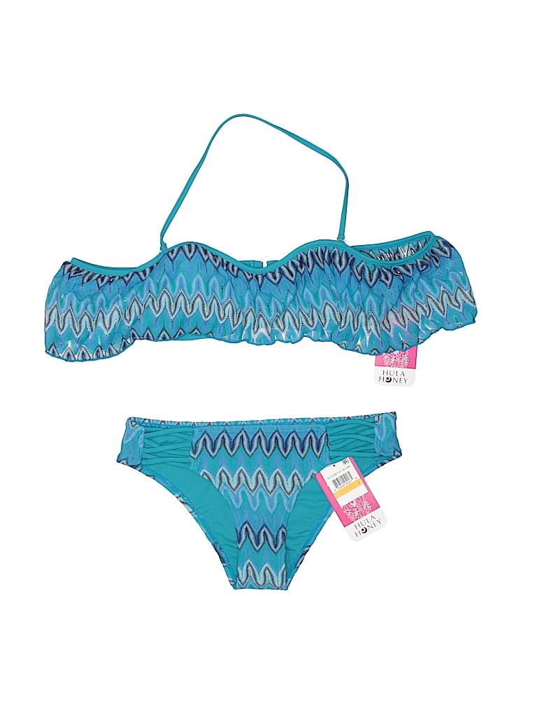 Hula Honey Women Two Piece Swimsuit Size S