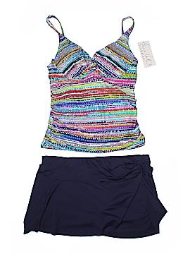 Anne Cole Signature Two Piece Swimsuit Size L