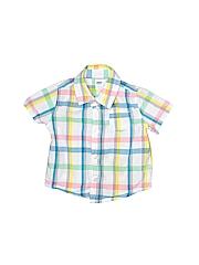 Old Navy Boys Short Sleeve Button-Down Shirt Size 6-12 mo