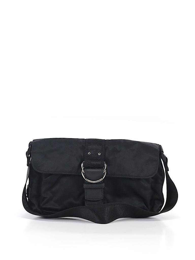 Lauren by Ralph Lauren Solid Black Shoulder Bag One Size - 99% off ... c0c64cd8e3341