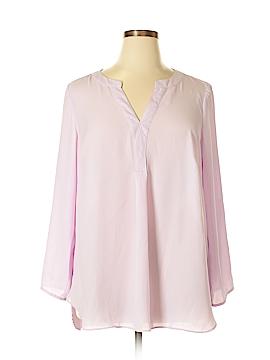 Zac & Rachel Long Sleeve Blouse Size 1X (Plus)