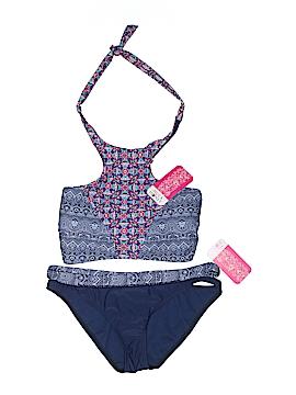 Hula Honey Two Piece Swimsuit Size L