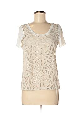 Babaton Short Sleeve Silk Top Size S