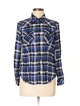 Izzue Long Sleeve Button-Down Shirt Size M