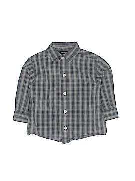 CALVIN KLEIN JEANS Long Sleeve Button-Down Shirt Size 18 mo