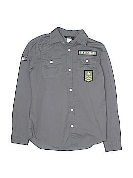 Guess Long Sleeve Button-Down Shirt Size 12 - 14